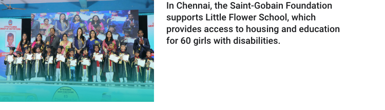 saint gobain foundation little flower school