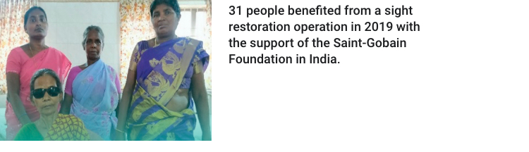 sight restoration saint-gobain foundation india