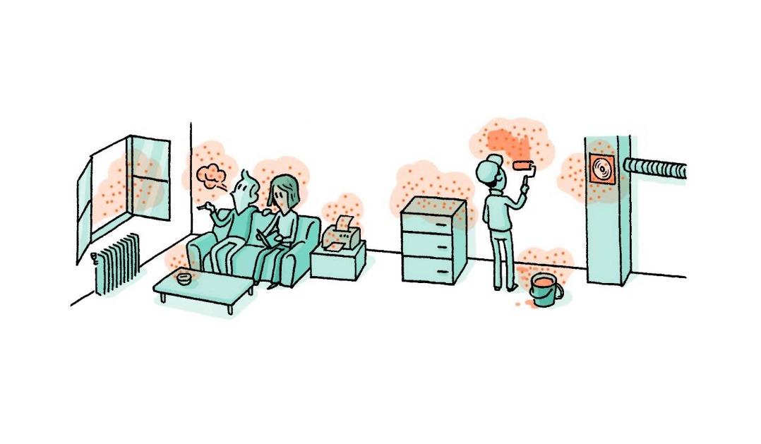 indoor air pollution comics