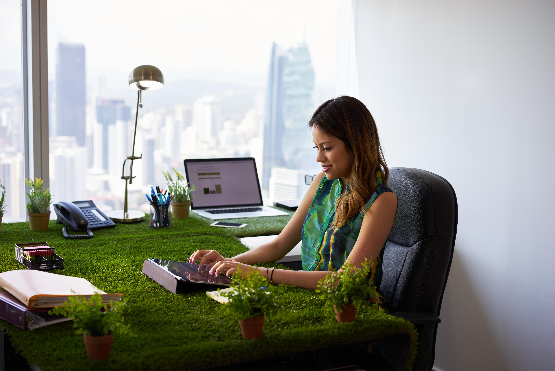 garden office table